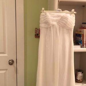 Long white gown yvonne lafleur